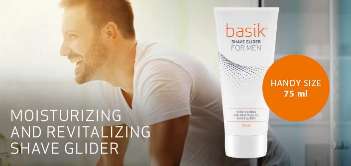 basik shave glider for men (75 ml)