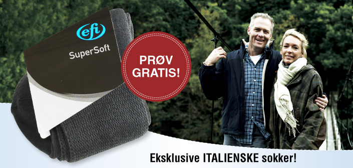 SuperSoft sokker - Eksklusive Italienske sokker!